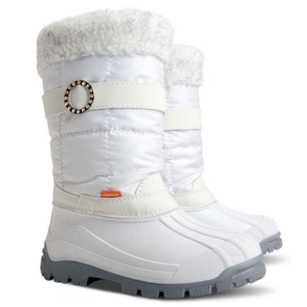 53582de3a56 AKCE !!! DEMAR - Dámské zimní sněhule ANETTE M 1313 bílé