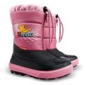 DEMAR - Dětská zimní obuv KENNY 2 1532 NB X-SNOW růžová